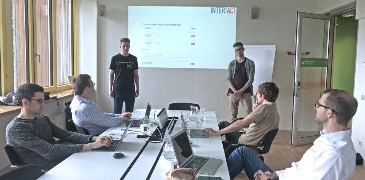Insight: Projekttreffen an der WU Wien im Juli 2018